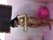 Indian Wife Nude Bathing