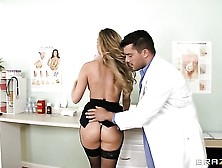 Sexy Babe Samantha Saint Is Visiting A Doctor Today And She Is A