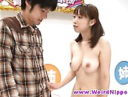 Young Japanese Teen Hottie Banged In Crazy Game Show