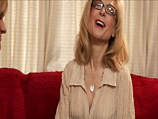 Milf Nina Hartley Delights Chubby Blonde With Cunnilingus