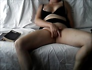 Wife Alone Masturbating On The Couch With...