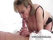 Lucky Dude Gets Cock Sucked By Busty Lady Sonia