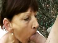 Horny Granny Inci Sucks And Rides Dick