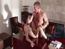 Mature Slut Having Hardcore Sex With A Younger Guy