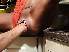 Milf Getting Fisted In Home