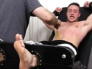 Gay Men And Nipple Fetish Kenny Tickled In A Straight Jacket