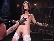 Device Bondage - Bdsm- Loving Slut Gets Her Holes Toyed At The S