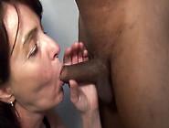 Jewish Mature Slut Loves Big Black Cock