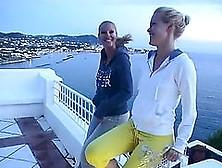Two Divine Blondies Having Lesbian Sex Are Just Regular Girls