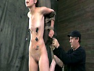 Naughty Girl Kristine Kahill Gets Tied Up And Punished