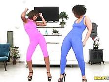 Big Brown Booties Peyton Rain And Ava Sanchez