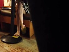Candid Shoeplay Flip Flops In Philippines