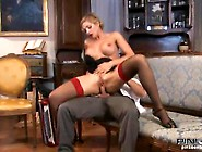 Vittoria Risi Licks The Horn Until Taking It Inside Her Nice Mou