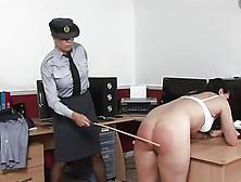 Flight Officer Hard Spanking Punishment