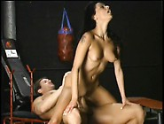Nikita Denise Has Her Personal Trainer Pounding Her Snatch In Th