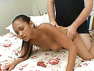 Lovely And Young Asian Hottie Enjoys Rough Doggy Style Sex