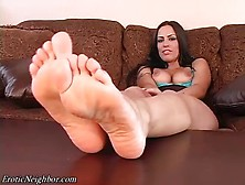Lexi lapetina POV footjob and