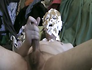 Messy Nut Slapping Pie In The Face