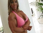 Fbb Gina Davis Pose And Flex