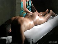 She Gives A Slow And Very Wet Handjob