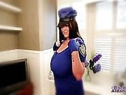 Rachel Aldana Busty Cop