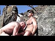 Muscle Stud Suck Squirt Xxl Beach Wank Cum