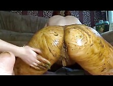 Awesome Lesbian Scat Sex With Fisting