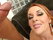 Naughty Milf Janet Mason Gets Drilled And Swallows His Hot Cum