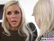 Seductive Blonde Lesbians Tara Morgan And Nina Elle Play With Th
