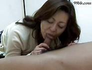 Japanese Milf Seduces Young Boy