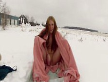 Katiedahrk Outdoor Cums In The Snow