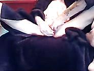 My Busty Brunette Milf Wife Spread Her Legs On Webcam