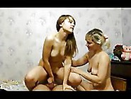 Russian Girl,  Mature Mother And Mom's Lover Threesome