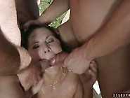 Piss Granny In Group Cocksucking