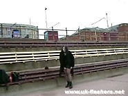 Masturbation On A Bench Tube Clips At Over Thumbs
