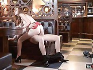 Glamour Babe Linda Sweet In High Heels Gets Asshole Rammed