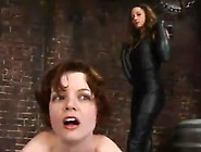 Rose Has Her Vag Fingered And Her Anal Tunnel Spanked By Kym Wil