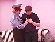 Dashing Officer Gets A Cock To Suck Then Ride Hardcore Till Orga