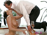 Love Creampie Busty Mom Gets Cum Inside Her