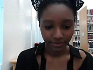 I Show My Pussy And Boobs In A Hot Amateur Ebony Porn