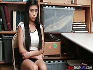 Asian Teen Amateur Caught Shoplifting And Is In Trouble