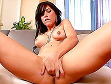 Alexa Nicole Fingers Her Wet Pussy In Hot Solo Scene