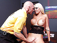 Rikki Six Is A Perfect Big Tits Blonde Pornstar For Hardcore Fuc