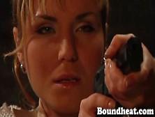Lesbain Bondman Huntress Part Two From Boundheat. Com