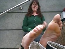 image Css the meanest stinky feet ever