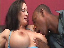 Brunette Milf With A Couple Of Huge Knockers Is About To Get Som
