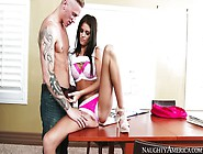 Sex Spree In The Library With Whitney Westgate And Richie Black