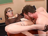 Big Titted Teacher Is Always In The Mood For A Good Fuck,  Even I