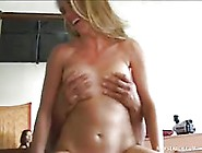 Cute Blonde Milf Talked Into Sex With A Stranger