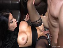 Busty And Bootyful Milf Nikki Capone Loves Hard Cock In Her Horn